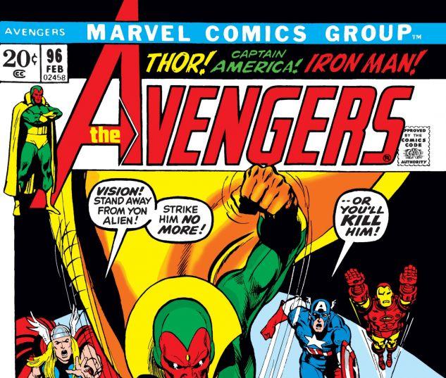Avengers #96 cover