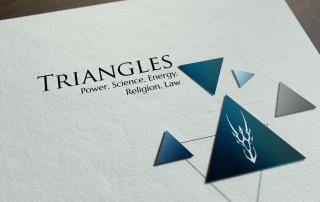 Logo Triangles Splash