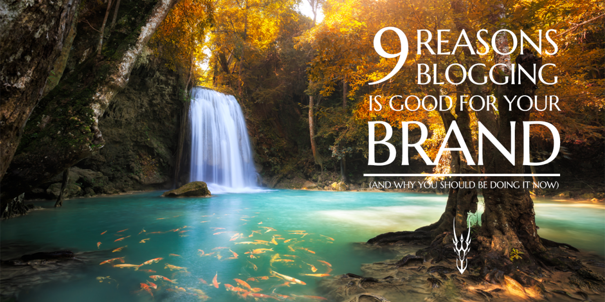 Reasons blogging is good for your brand