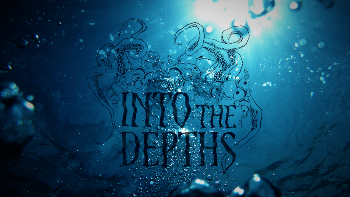 Into the Depths Graphic Design