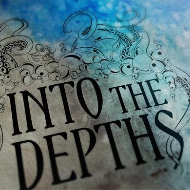 Into the Depths Logo Design Bournemouth